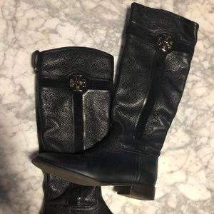Tory Burch Leather & Suede Boots
